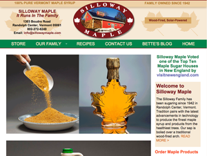 Silloway Maple Website