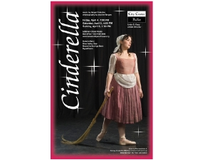 City Center Ballet Poster