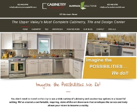 Cabinetry Concepts Website