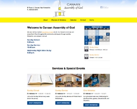 Canaan Assembly of God Website