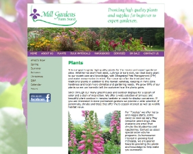 Mill Gardens Farmstand Website
