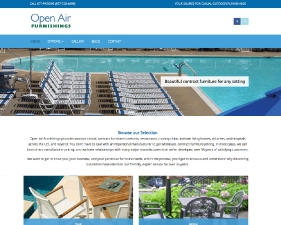 Open Air Furnishings Website