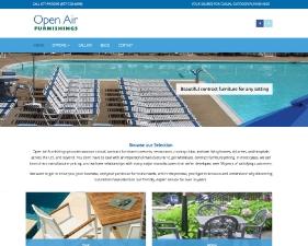 Open Air Furnishings Website