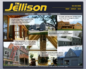 TM Jellison Construction Website