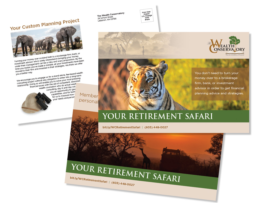 Wealth Conservatory Direct Mail